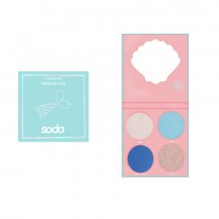 SODA EYESHADOW PALETTE #letsbemermaids Тени для век MERMAID EYES